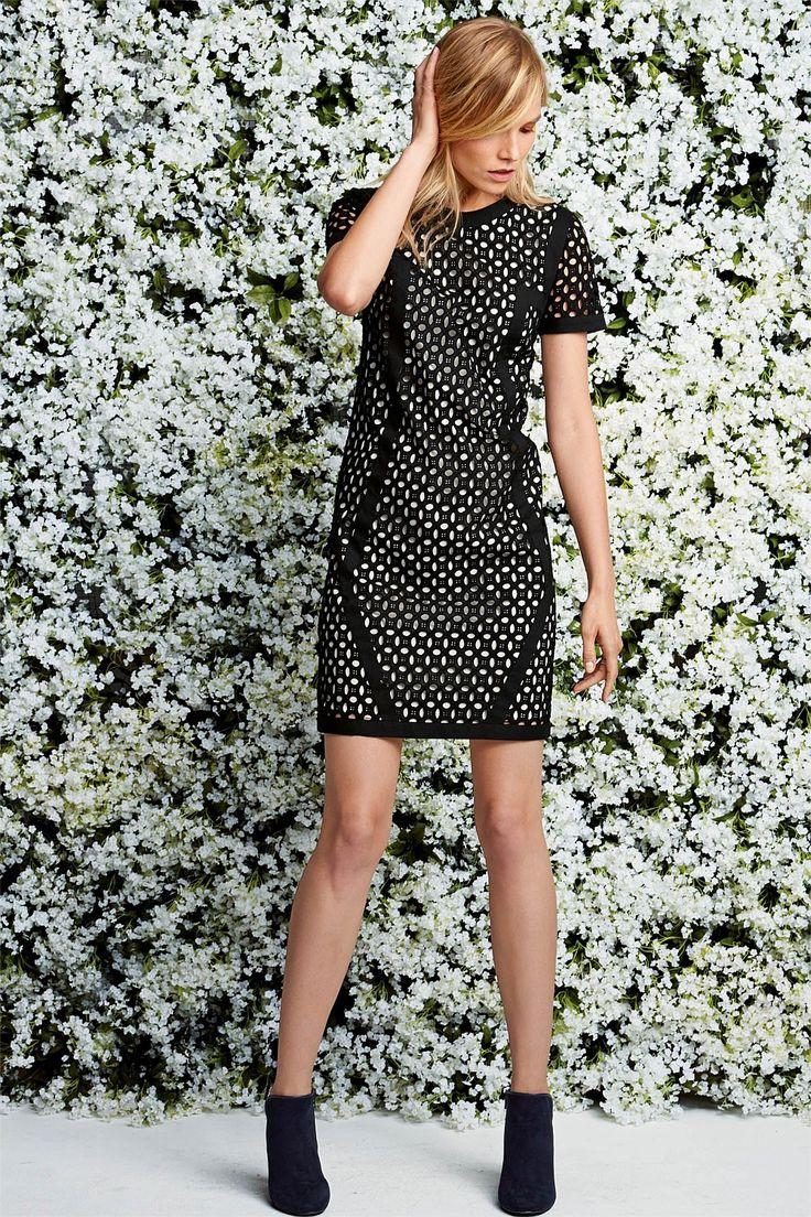 Next Broderie Overlay Black Dress - EziBuy Australia #next #dresstoimpress #thebrandstore