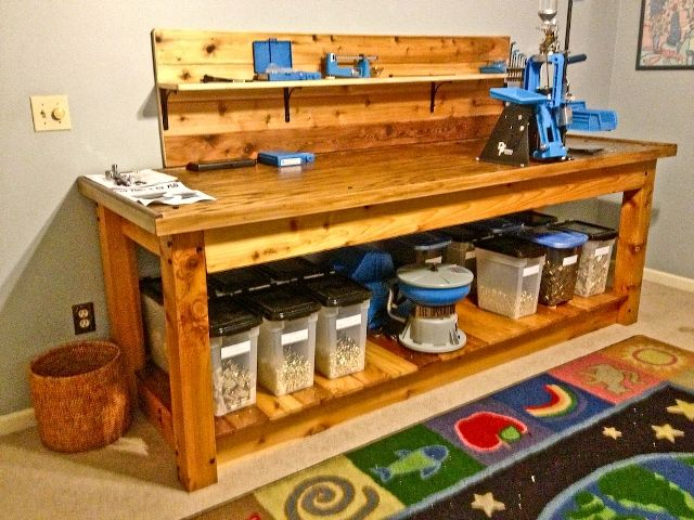 amazing reloading bench harbor freight to works
