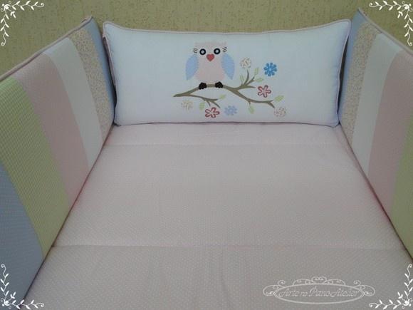 Kit Berço para decorar quarto de bebê2