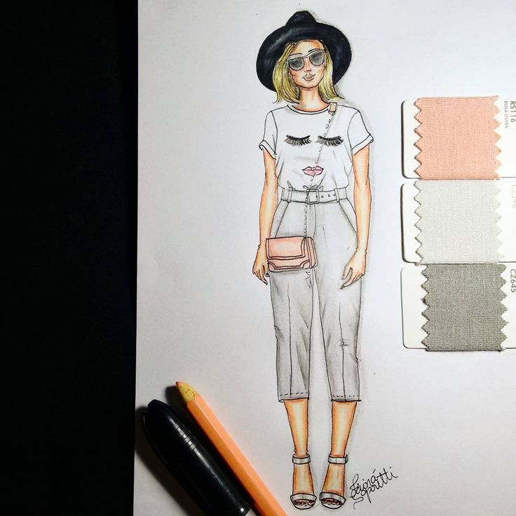 #draw #drawing #fashion #love #fashionillustration #illustration #instagood #handmade #moda #rose #lookdodia #lookoftheday #fashiondesign #designdemoda #fashionista #inlove #croqui