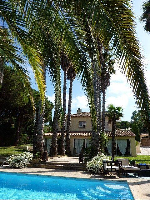 Holiday rental villa Saint-Tropez Salins