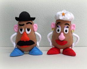 Sr e Sra Cabeça De Batata