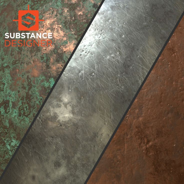 metal substances, Alexander Asmus on ArtStation at https://www.artstation.com/artwork/8E4a6
