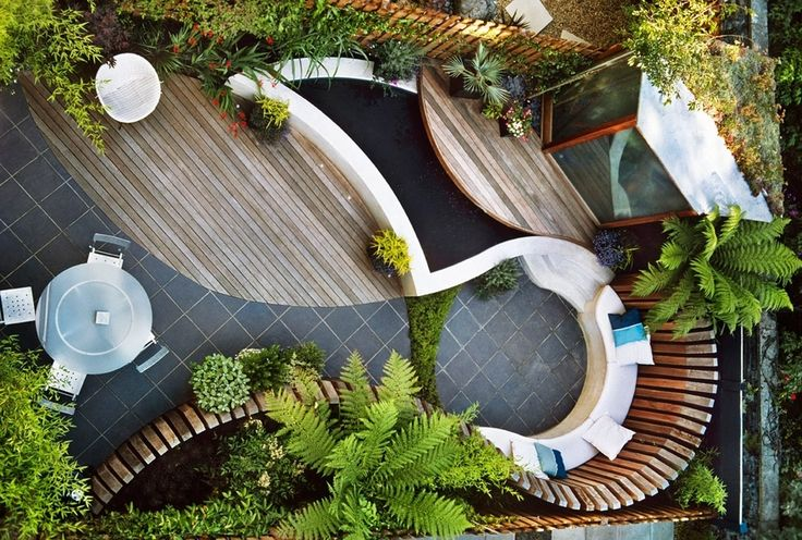 Exciting Small Backyard Design