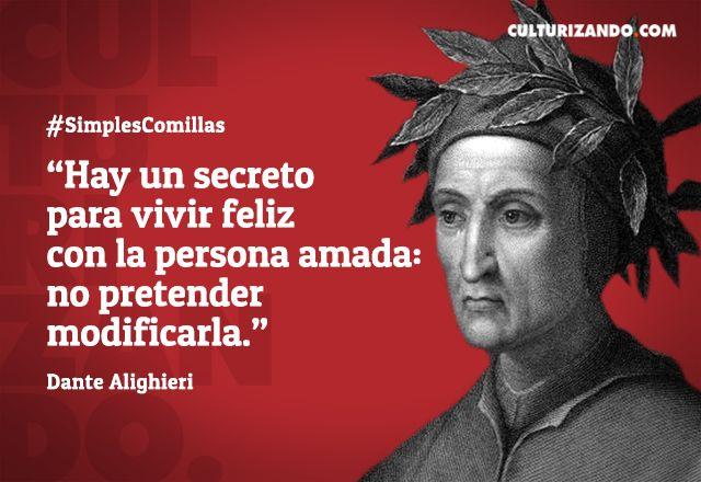 Grandes frases de Dante Alighieri - culturizando.com | Alimenta tu Mente