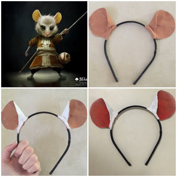 PART 2 This is about decorating/painting, if you missed the template of how to make these ears please check the 'Disney Costume Ideas' Pin Board on my page. So this took me about 20 minutes, & it's just basic decorating for what ever occasion you need- Simba (the lion king), Dormouse (Alice In Wonderland), Tigger, Kanga, Roo (Winnie the Pooh), Baloo (Jungle Book) the options are endless. I'm going to post in 3 parts so make sure you follow my pin, this is PART 2. TOOLS- •Paint Brushes •Paint…