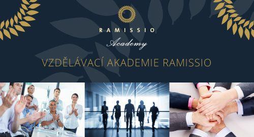 1.stupeň Ramissio Academy - Odborná produktová akademie 26.11.2016 CZ   Ramissio Academy Poslední produktová akademie v tomto roce je již beznadějně obsazená, ale ti, co nejsou nahlášení v kalendáři MyOffice, nemusejí zoufat.