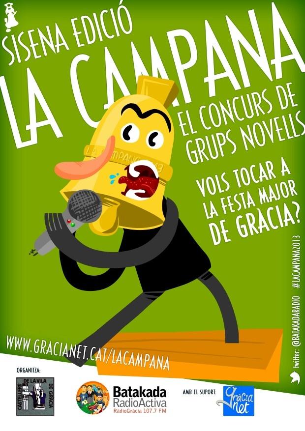 Cartell La Campana 2013