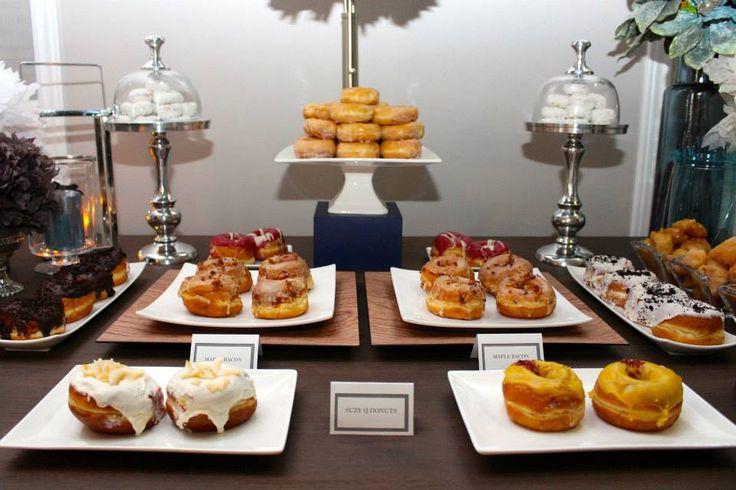 Masculine Dessert table.