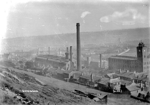 Longwood, 1910. Source: Kirklees Image Archive