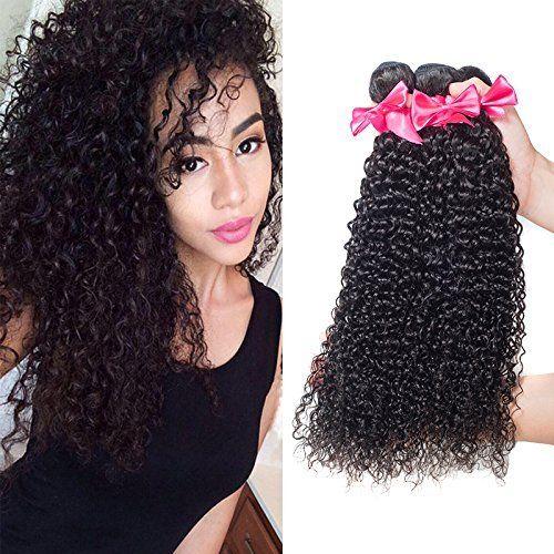 Usexy Brazilian Kinky Curly Virgin Hair 3 Bundles Cheap Human Hair Weave Extensions 100g/bundle Good Brazilian Curly Hair (24 26 28)