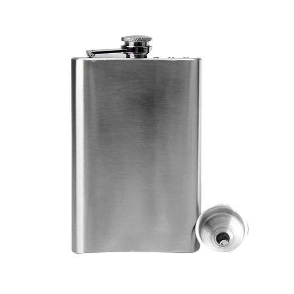 Stainless Steel 10oz Hip Drink Liquor Whisky Alcohol Flask Screw Funnel Cap Hot Selling #Affiliate