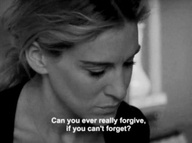 Can you ever really forgive if you can't forget?