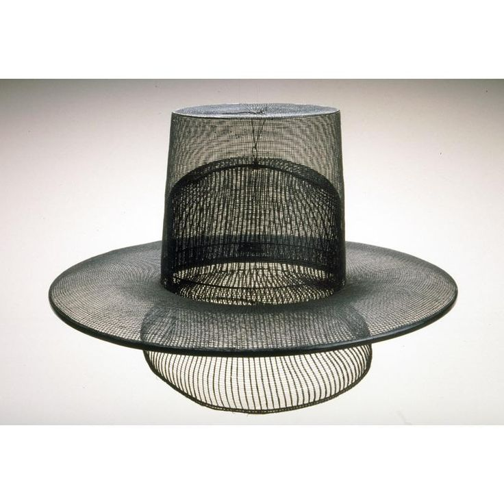 Man's hat Object Name: Costume Date: Joseon dynasty, approx. 1850-1910 Medium: horsehair