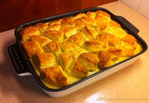 Easy Chicken & Biscuits  - best ever recipe!