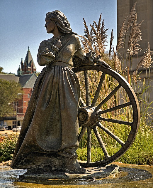 St. Joseph, Missouri USA.... was the Starting Off Point for the Wagon Trains to the West..19th Century.