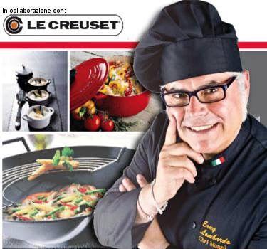 """EVENTO IMPERDIBILE !!!  Presto ai #fornelli della nostra #cucina...  """"Erny Lombardo"""", il famoso #chef ideatore di un interessante #progetto gastronomico che si rifà a un percorso storico-culinario legato alle #ricette dei #Monzù, Monsieur in napoletano, i cuochi di corte del XVII e XIX.  #villamontesiro #fratelli_villamontesiro #villa_casalinghi #ul_piatè_de_munt #lecreusetitalia"""