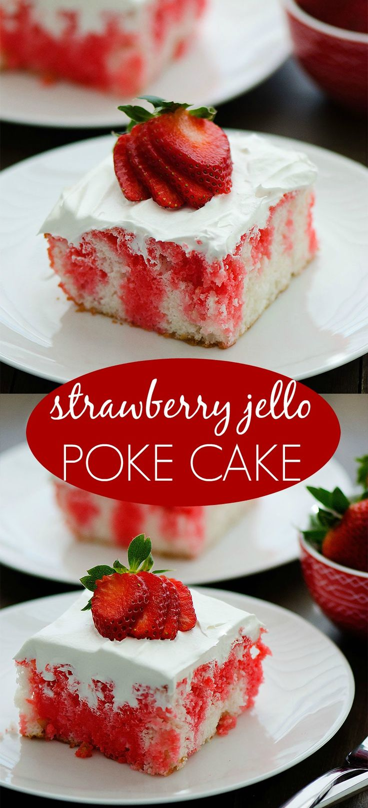 This cake. It is a classic that I'm sure you've either had or heard of before. Am I right? Jello Poke Cakes have been around forever because they are so dang delicious. Since Valentine's Day is only a few days away I thought it would be perfect timing to share this purty cake.  I think... Read More »