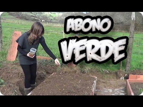 Como Segar E Incorporar El Abono Verde || Huerto Organico || La Huertina De Toni - YouTube