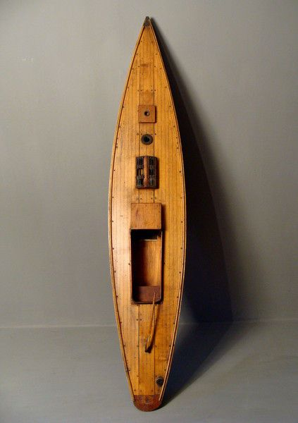 Edwardian Pond Yacht - Astley House Interiors