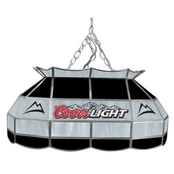 Coors Light Stained Glass Pool Table Light: 63 Best Man Cave Images On Pinterest