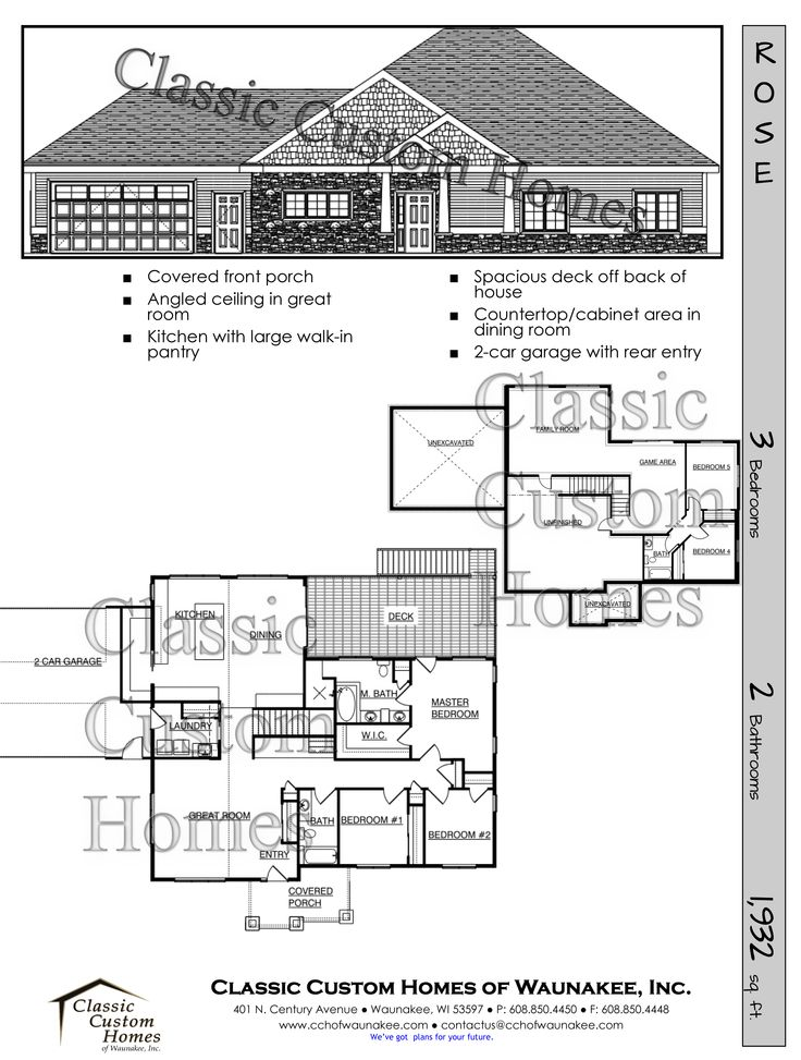 56 best floor plans images on pinterest floor plans for Ron lee homes floor plans