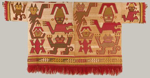 Sleeved Tunic, 12th–15th century (Peru; Chimú)