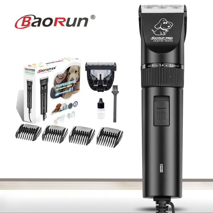 Professional Plug-in Electric Pet Clippers 12V High-speed Power Animals Shaver Haircut Scissors Cat Rabbit Dog Hair Trimmer