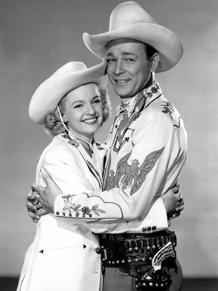 Roy Rogers & Dale Evans One of my childhood favorites.