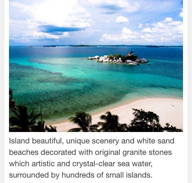 Belitung Island-Bangka Belitung Indonesia.