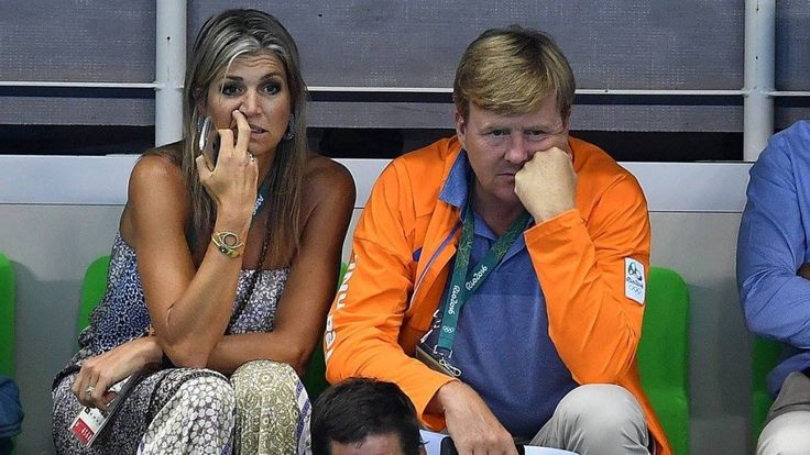 King Willem-Alexander, Queen Máxima and their daughters are in Brazil to support the Dutch team at Rio Olympics