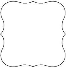 label shape, or for invite | Inspiration | Pinterest | Форма