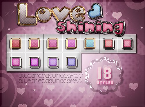 +LoveShining{STYLES} by AWednesdayInACafe