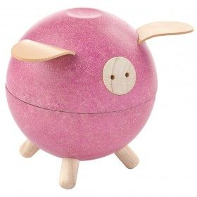 Piggy Bank - Pembe