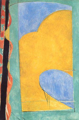 Matisse - Yellow Curtain