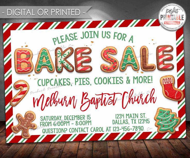 25+ enestående idéer inden for Bake sale flyer på Pinterest - bake sale flyer