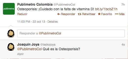 """¡Cuidado con la """"osteoporisis""""!"""