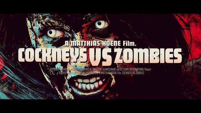 COCKNEYS VS ZOMBIES by Gianluca Fallone. Title sequence and end credits for horror/comedy feature film directed by Matthias Hoene.