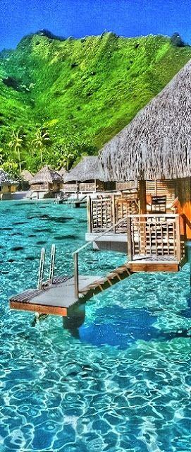 Moorea, French Polynesia.   #MostBeautifulPages