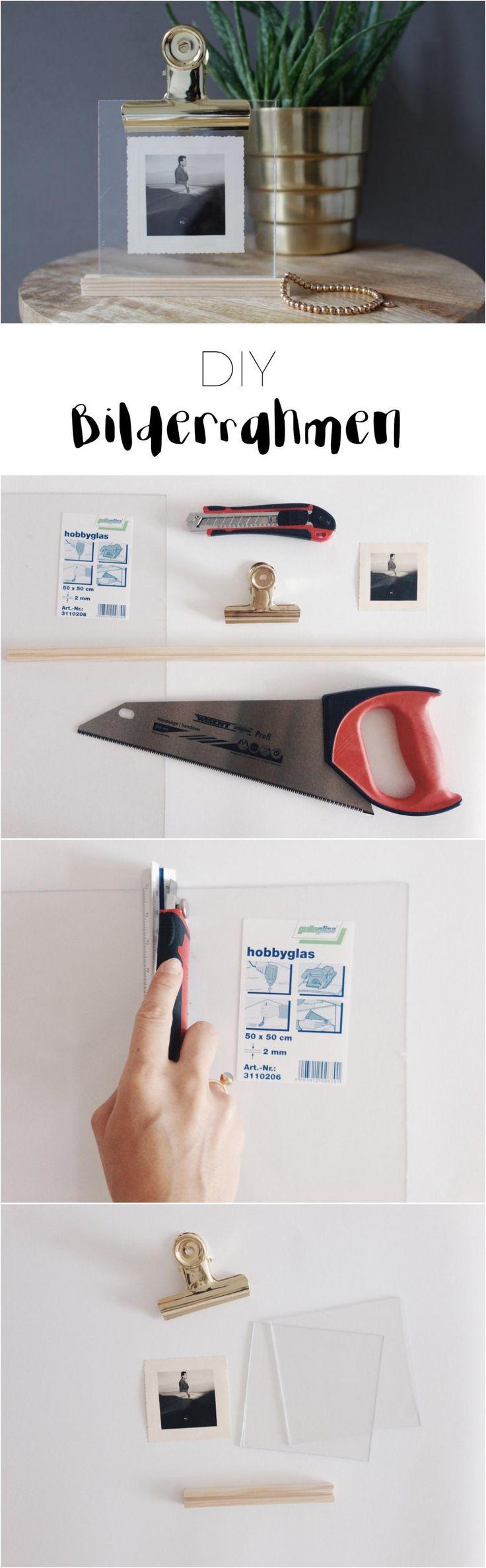 die besten 25 bilderrahmen selber machen ideen auf pinterest bilderrahmen machen. Black Bedroom Furniture Sets. Home Design Ideas