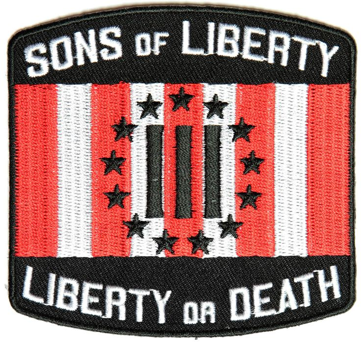 SONS OF LIBERTY, LIBERTY OR DEATH 3 PERCENTER OATH KEEPER PATCH SONS OF LIBERTY, LIBERTY OR DEATH 3 PERCENTER OATH KEEPER PATCH [4623CP] - $7.00 : Hat n Patch, Military Hats, Patches, Pins and more