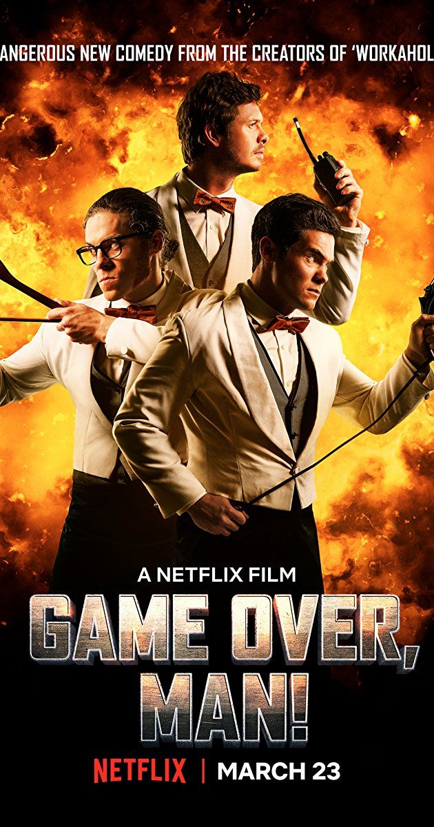 Game Over, Man! (2018) Full Movie Online Streaming {hd.1080p}