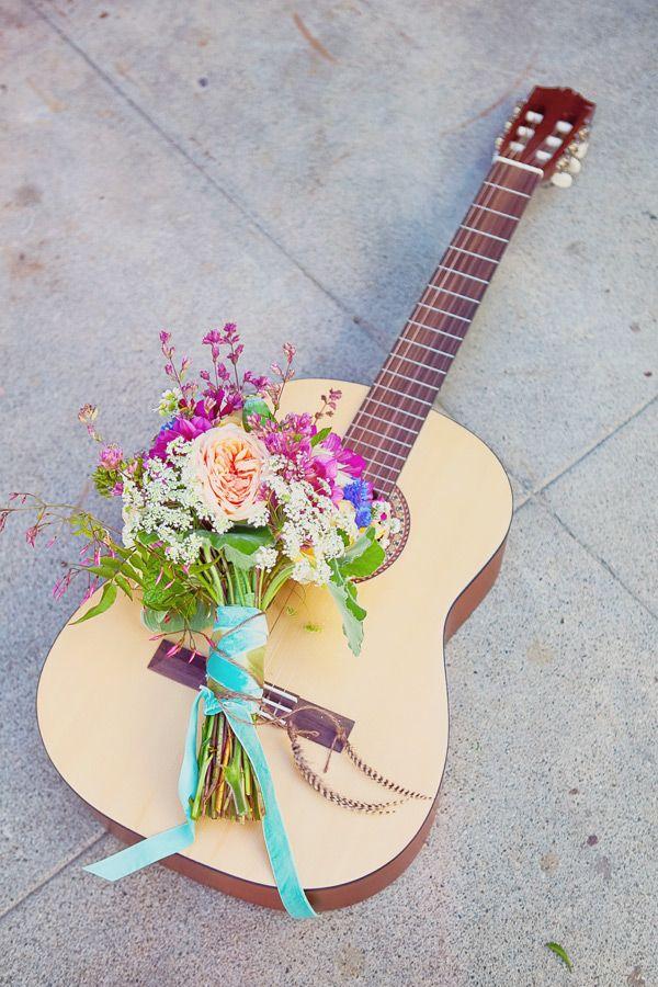 California Hippie Chic Wedding Ideas | Ruffled