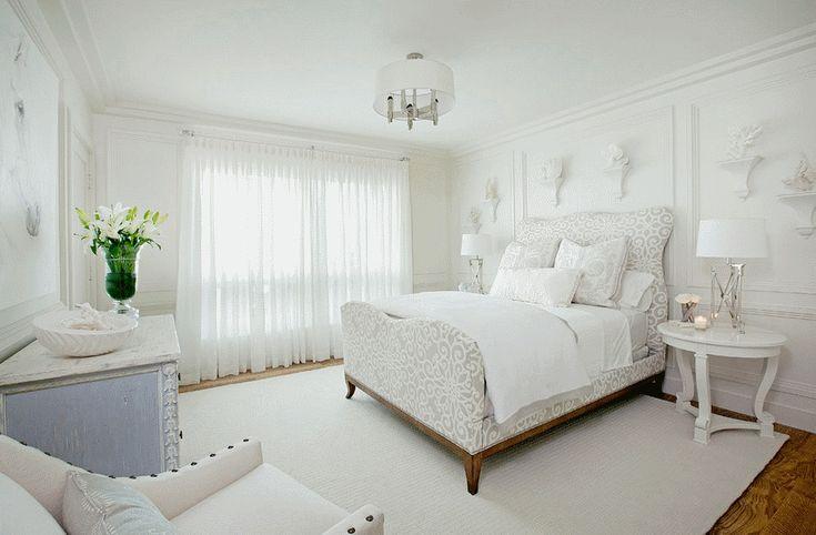 Спальня в  цветах:   Белый, Светло-серый, Серый, Темно-зеленый.  Спальня в  стиле:   Арт-деко.