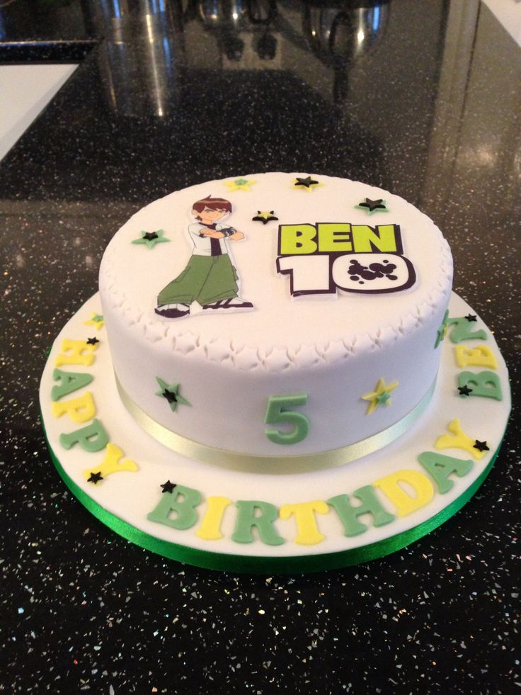 Ben 10 Birthday Cake Cakes Pinterest Birthday
