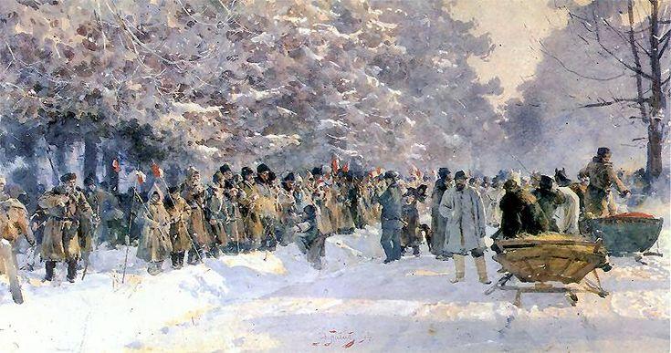 The Hunt - Polowanie, nagonka 1894.