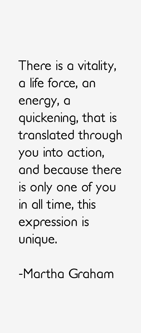 Martha Graham Quotes