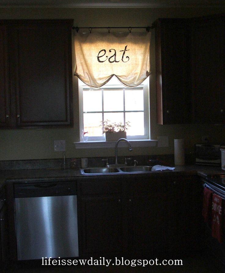 41 Best Kitchen Curtains Images On Pinterest