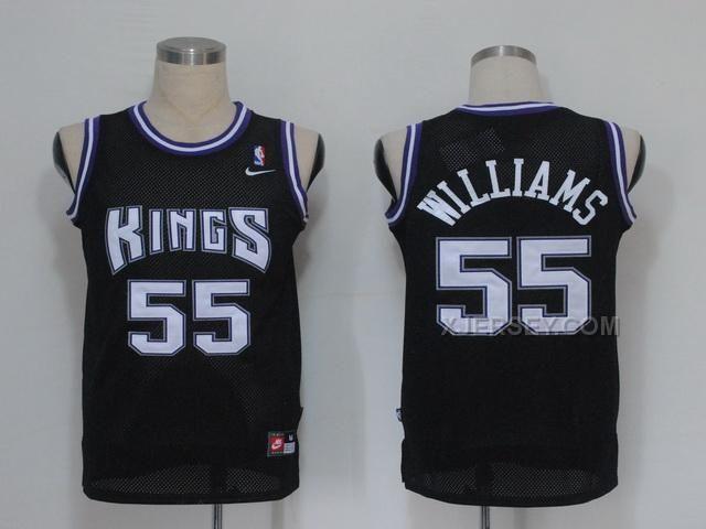 a0346418134 Sacramento KingsJason WilliamsJordan ShoesFootball JerseysAir Cheap Sacramento  Kings Jason Williams 55 New White Hardwood Classics Swingman jersey ...
