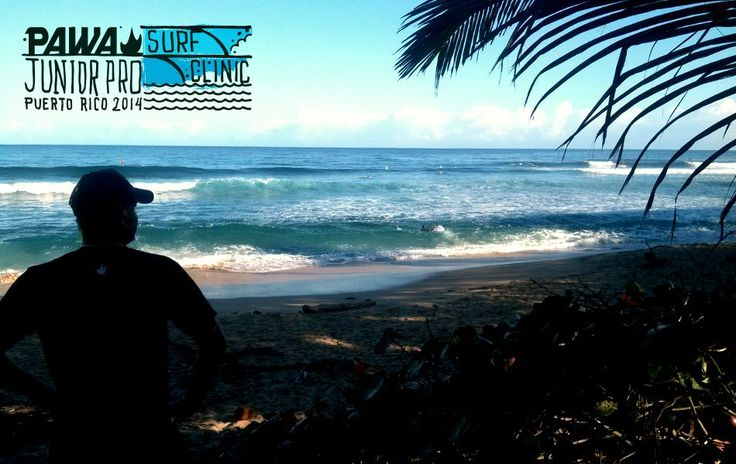 PAWA Junior Pro Surf Clinic Puerto Rico - Day 1 #pawasurfclinic #pawasurf